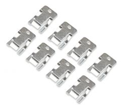 MR. GASKET ROCKER ARM CLIPS - OIL DEFLECTING - Fits Chevy, Ford and Pontiac with Stock Rockers Only, MRG 1015