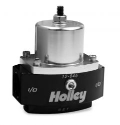 HLY 12-845 HOLLEY BILLET FP REG, ADJ 4.5-9 PSI 8AN IN/2X 6AN OUT BY