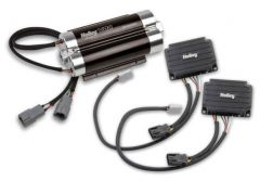 HOLLEY VR2 BRUSHLESS FUEL PUMP W/CONTROLLER-SINGLE 16AN INLET STREET/STRIP CARB OR EFI APPLICATIONS SUPPORTS UP TO 4400 EFI OR 4800 CARB HP COMPATIBLE WITH PUMP GAS RACE GAS METHANOL AND E85*