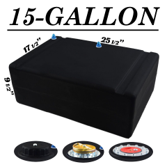 15 GALLON FUEL CELL - TOP FEED