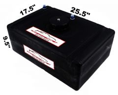 RACERDIRECT.NET 15 GALLON ECONOMY FUEL CELL RAISED PLASTIC CAP RDN3010001