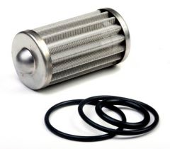 HLY 162-559 HOLLEY FUEL FILTER ELEMENT AND O-RING KIT FITS 175 GPH HP BILLET FUEL FILTERS 100 MICRON
