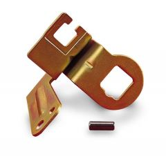 HLY-20-100 HOLLEY  GM AOD KICKDOWN CABLE BRACKET FOR USE ONLY ON MODEL 4011