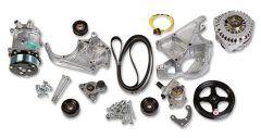 HLY-20-137 HOLLEY LS COMPLETE ACCESSORY DRIVE KIT INCLUDES SD508 A/C COMPRESSOR