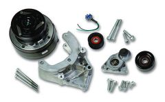 HLY-20-140 HOLLEY LS A/C ACCESSORY DRIVE KIT - PASSENGER'S SIDE A/C BRACKET - INCLUDES R4 A/C COMPRESSOR