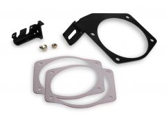 HOLLEY EFI CABLE BRACKET FOR 90 & 95MM THROTTLE BODIES ON FACTORY OR FAST BRAND CAR STYLE INTAKES, HLY 20-147