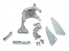 "HLY-20-159 HOLLEY ""LOW LS ACCESSORY DRIVE BRACKET - PASSENGER'S SIDE A/C BRACKET - USE W/ SANDEN SD7 COMPRESSOR ONLY"
