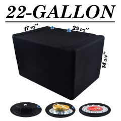 22 GALLON SHORT FUEL CELL - TOP FEED