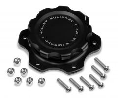 HOLLEY BILLET FUEL CELL CAP WITH ALUMINUM 6 BOLT FLANGE, HLY 241-226
