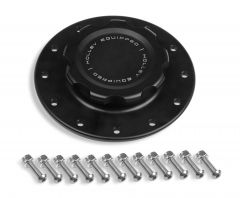 HOLLEY BILLET FUEL CELL CAP WITH ALUMINUM 12 BOLT FLANGE, HLY 241-227