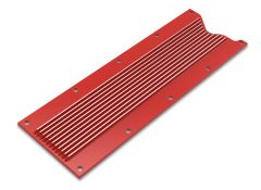 HOLLEY GM LS1/LS6 FINNED VALLEY COVER - FACTORY ORANGE FINISH, HLY 241-270