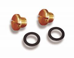 HLY 26-85 HOLLEY QUICK CHANGE FUEL BOWL PLUGS