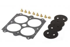 """HLY 26-95 HOLLEY THROTTLE PLATE KIT 1-11/16"""" PLATE DIA. 0.093"""" HOLE SIZE"""