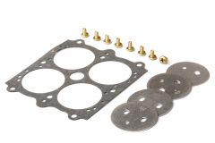 """HLY 26-96 HOLLEY THROTTLE PLATE KIT 1-11/16"""" PLATE DIA. 0.150"""" HOLE SIZE"""