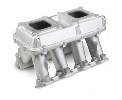 HLY 300-113 HOLLEY CARBURETED HI-RAM INTAKE 2 X 4150™ -SIDEWAYS AND INLINE MOUNTING