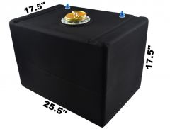 RDN3004901 RACERDIRECT.NET  32 GALLON POLY FUEL CELL WITH A D RING VENTED CAP