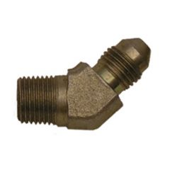 "ADAPTER, AN3 x 1/8"" NPT 45 DEGREES (STEEL)"