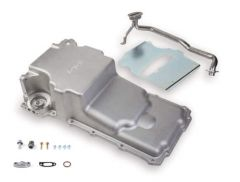 HOLLEY GM LS SWAP OIL PAN - ADDITIONAL FRONT CLEARANCE - 55-87 GM