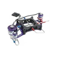 NITROUS PRO FLOW SINGLE STAGE CROSSBAR PLATE SYSTEM - 4150 WITH BURST