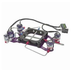 NITROUS PRO FLOW TWO STAGE CROSSBAR PLATE SYSTEM - 4500 WITH BURST