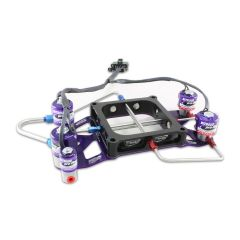 NITROUS PRO FLOW TWO STAGE CROSSBAR PLATE SYSTEM - 4500 NO BURST