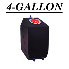 4 GALLON UPRIGHT FUEL CELL - BOTTOM FEED