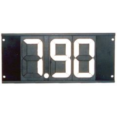 DIAL BOARD, 3 DIGIT