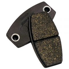 BRAKE PADS, BLACK (STEEL ROTOR) PAIR