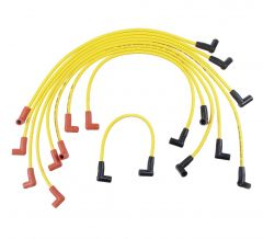 ACCEL SUPERSTOCK UNIVERSAL SPARK PLUG WIRE SET WITH 90 DEGREE BOOT YELLOW #4048