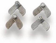 Hooker Collector Tab Slip-On Locking Tabs Incl. 4 Tabs Bolts Washers &  Nuts, 41521HKR