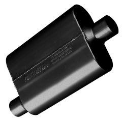 FLOWMASTER 40 SERIES CHAMBERED MUFFLER - 2.25 OFFSET IN / 2.25 CENTER OUT