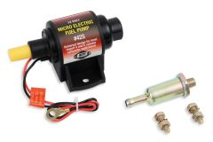 MR. GASKET MICRO ELECTRIC FUEL PUMP 2 - 3.5 PSI - 28 GPH - GASOLINE