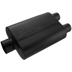 FLOWMASTER 40 SERIES CHAMBERED MUFFLER - 3.00 CENTER IN / 2.50 DUAL OUT