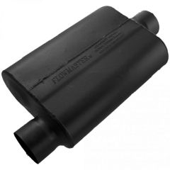 FLOWMASTER 40 SERIES CHAMBERED MUFFLER - 3.00 OFFSET IN / 3.00 CENTER OUT