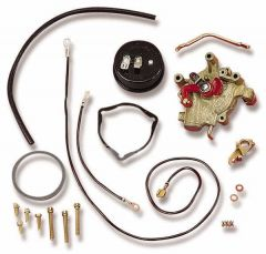 HLY-745-224 HOLLEY  MARINE ELECTRIC CHOKE CONVERSION KIT STANDARD FINISH W/INTERNAL VACUUM SOURCE