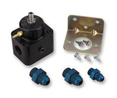 HLY 512-504-5 HOLLEY STOCK REPLACEMENT ADJUSTABLE FUEL PRESSURE REGULATOR STREET/STRIP EFI APPLICATIONS FITS 1993-97 LT1/LT4 CAMARO/FIREBIRD AND 1994-95 LT1 IMPALA SS ADJUSTABLE FROM 35 TO 65 PSI