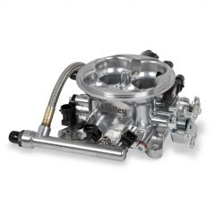 HLY-534-216 HOLLEY EFI SERVICE TERMINATOR THROTTLE BODYWITHOUT HARNESS -POLISHED