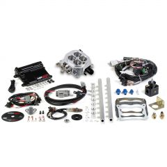 HLY 550-500 HOLLEY EFI HP EFI UNIVERSAL MPI RETROFIT KIT 4150-AND-#153; CARBURETOR STYLE INTAKE MANIFOLDS