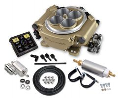HOLLEY SNIPER EFI 550-516K SELF-TUNING MASTER KIT - CLASSIC GOLD FINISH