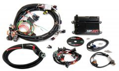 HOLLEY EFI HP EFI ECU & HARNESS KITS - GM LS1/LS6 (24X CRANK SENSOR) WITH JETRONIC/MINITIMER (BOSCH TYPE) CONNECTORS ON INJECTOR HARNESS (FITS HOLLEY 522-XXX INJECTORS), INCLUDES BOSCH OXYGEN SENSOR