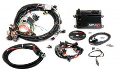 HOLLEY EFI HP EFI ECU & HARNESS KITS - GM LS1/LS6 (24X CRANK SENSOR) WITH JETRONIC/MINITIMER (BOSCH TYPE) CONNECTORS ON INJECTOR HARNESS (FITS HOLLEY 522-XXX INJECTORS), INCLUDES NTK OXYGEN SENSOR