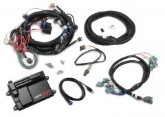HOLLEY EFI HP EFI ECU & HARNESS KITS - GM LS2/3/7 (58X CRANK SENSOR) WITH USCAR (EV6 STYLE) CONNECTORS ON INJECTOR HARNESS, INCLUDES BOSCH OXYGEN SENSOR