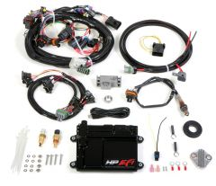 HOLLEY EFI HP EFI ECU & HARNESS KITS - UNIVERSAL V8 MULTI-POINT FUEL INJECTION, INCLUDES BOSCH OXYGEN SENSOR