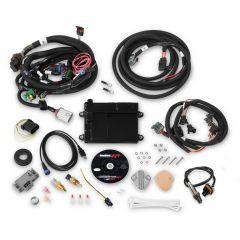 HOLLEY EFI HP EFI ECU & HARNESS KITS - UNIVERSAL FORD V8 MULTI-POINT FUEL INJECTION, INCLUDES BOSCH OXYGEN SENSOR AND FORD V8 INJECTOR HARNESS, HLY 550-606