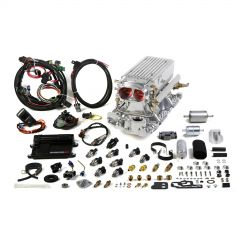 HLY-550-822 HOLLEY EFI AVENGER EFI STEALTH RAM-AND-#153; MPFI FUEL INJECTION SYSTEM -POLISHED
