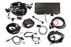 HOLLEY 550-935 TERMINATOR X MAX 58X/4X EV1 LS MPFI KIT WITH DBW THROTTLE BODY AND TRANSMISSION CONTROL