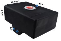 RDN3001301 RACERDIRECT.NET 5 GALLON RACING FUEL CELL WITH SUMP AND AN AIRCRAFT CAP