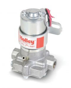 HLY 712-801-1 HOLLEY 130+ GPH MECHANICAL FUEL PUMP - MARINE MARINE CARBURETED APPLICATIONS  FITS BIG BLOCK CHEVY V8S COMPATIBLE WITH GASOLINE