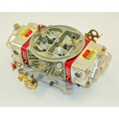AED 750HO 4150 DOUBLE PUMP WITH RED BILLET ALUMINUM METERING BLOCKS