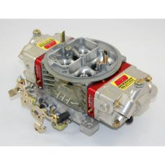 AED 750HOM 4150 MODIFIED CNC PORTED WITH RED BILLET ALUMINUM METERING BLOCKS